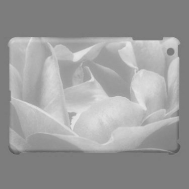Rose In Black And White Case For The iPad Mini