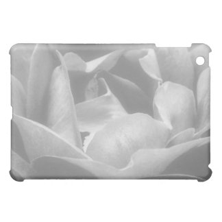 Rose In Black And White Cover For The iPad Mini