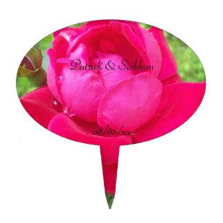 Rose in Bloom Cake Topper
