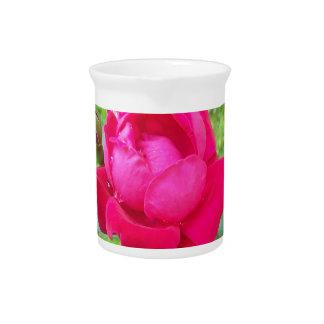 Rose in Bloom Drink Pitcher