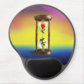 Rose in Hourglass Gel Mouse Pad