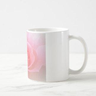 Rose in Soft Peach Coffee Mug