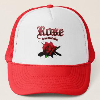 rose & ink brush trucker hat