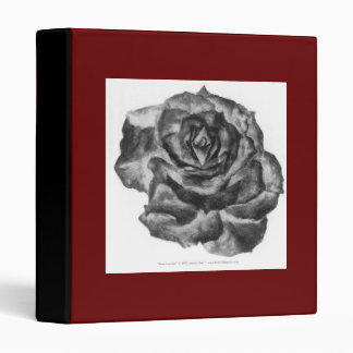 Rose (Inverse) Avery Binder
