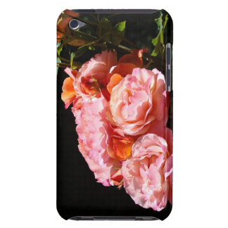 Rose iPOD cases Bright Pink Roses Flowers iPod Touch Cases