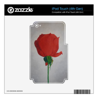Rose iPod Touch 4G Skin