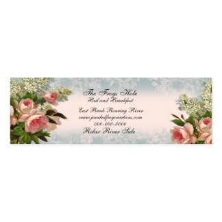 Rose is a Rose, Double-Sided Mini Business Cards (Pack Of 20)