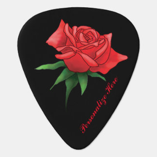 Rose Is A Rose Personalized Guitar Pick
