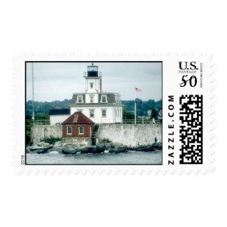 Rose Island Lighthouse Postage