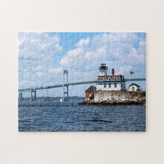 Rose Island Lighthouse, Rhode Island Jigsaw Puzzle