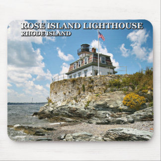 Rose Island Lighthouse, Rhode Island Mousepad
