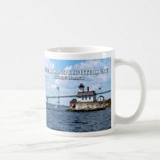 Rose Island Lighthouse, Rhode Island Mug