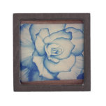 rose.jpg azul caja de regalo de calidad