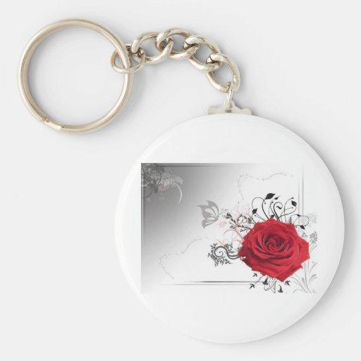 rose.JPG Llavero Redondo Tipo Pin