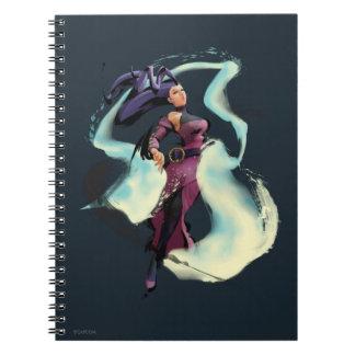 Rose Jump Spiral Notebook
