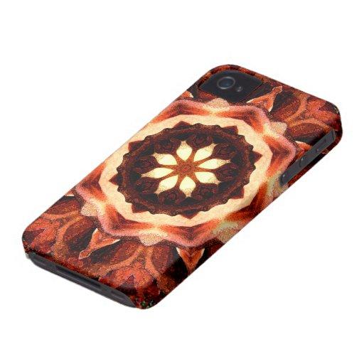 Rose Kaleidoscope iPhone Case Case-Mate iPhone 4 Cases