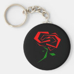 Rose Key Chains