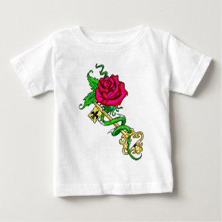 Rose/Key Shirt