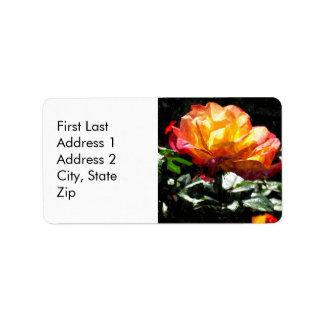 Rose Custom Address Labels