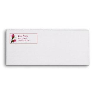 Rose Label Envelope