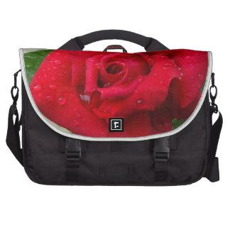 Rose Laptop Messenger Bag