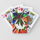 Rose Leaf n Petal based Art Pattern Card Deck