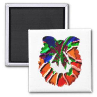 Rose Leaf n Petal based Art Pattern Magnets