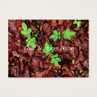 Rose Leaves Business Card