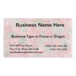 Rose leaves design in red tissue paper business card templates