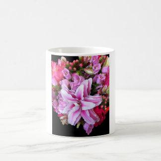 Rose Lily Classic White Coffee Mug