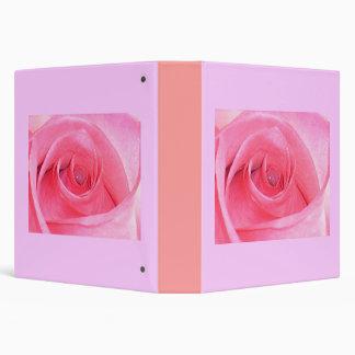 Rose love 3 ring binder