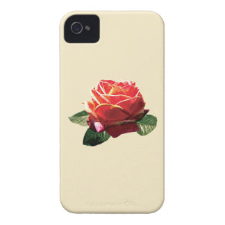 Rose Love and Peace iPhone 4 Cases