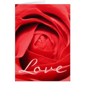 Rose Love Card