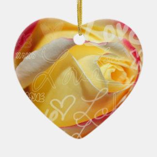 Rose Love Pendant Ornament