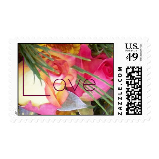 Rose Love Wedding Postage