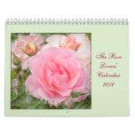 Rose Lovers' 2012 Calendar