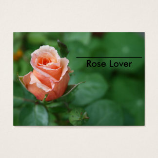 Rose Lover's Business Card For Friends