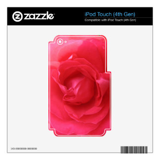 Rose Macro iPod Touch 4G Skins