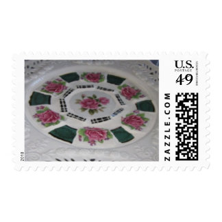 Rose mail Postage stamp