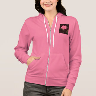 Rose Mallow Ladies' Hoodie Sweatshirt