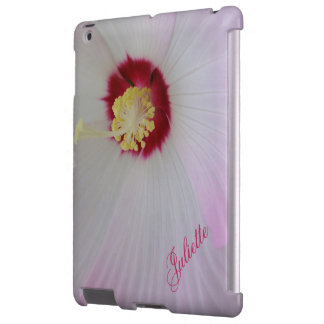 Rose Mallow: On The Inside iPad Case *Personalize*