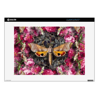 "Rose Mandala 15"" Laptop Skin"