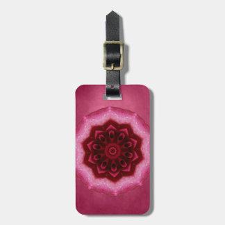 Rose Mandala Bag Tags