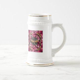Rose Mandala Beer Stein