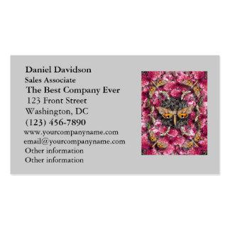 Rose Mandala Business Cards