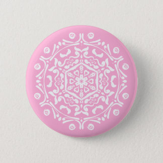 Rose Mandala Button