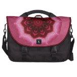 Rose Mandala Commuter Bag