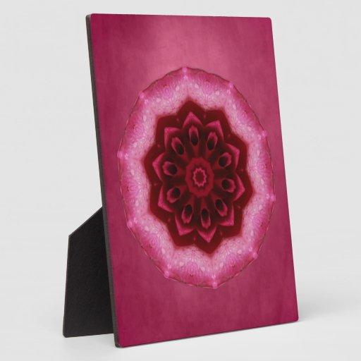 Rose Mandala Display Plaque