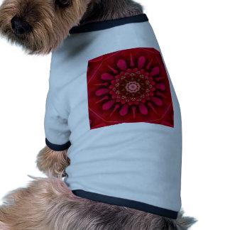 Rose Mandala Dog Tshirt