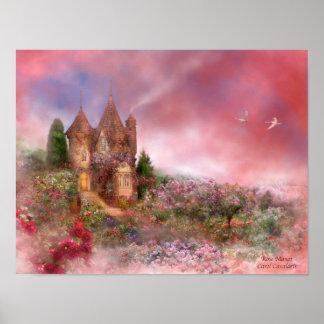 Rose Manor Art Poster/Print